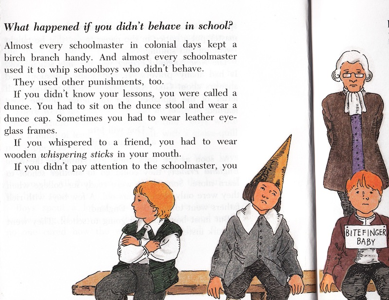 Colonial Punishments For Kids You learned things like The