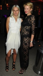 Olympia and Fiona Scarry at Cannes 2012 Vanity Fair/Gucci party
